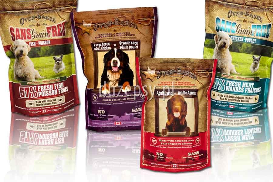 naturalne karmy dla psa; najlepsza karma dla psa; karma dla psa OBT; karmy Oven-Baked Tradition; karmy kanadyjskie dla psa; karma dla psa z alergią; karma dla psa bez konserwantów, sklep zoologiczny, DuzePsy.pl
