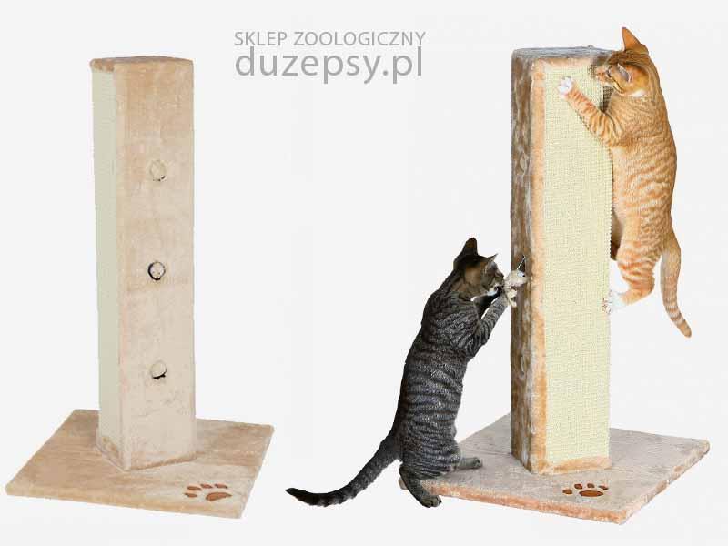 drapak dla dużego kota słupek z sizalu; drapak dla dużego kota mainecoon; drapaki dla kotów sklep; drapak dla kota wysoki; drapak dla kota słupek z sizalu; drapak z sizalu dla kota słupek z zabawką; elegancki drapak dla kota; drapak dla kota; drapak z sizalu; drapak dla kota słupek; tanie drapaki dla kotów; drapaki dla kotów; tani drapak dla kota; sklep zoologiczny internetowy; hurtownia zoologiczna; drapaki Trixie; akcesoria dla kotów; DuzePsy.pl