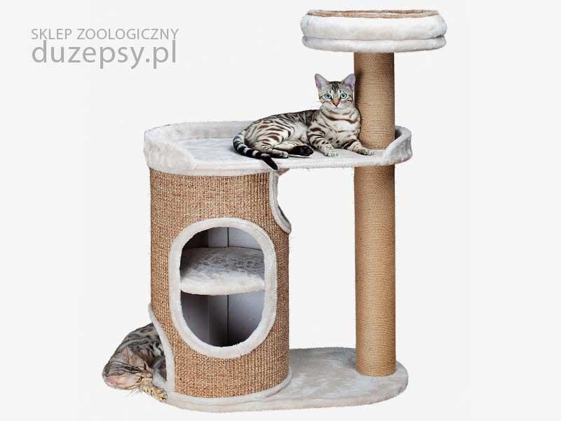 drapak dla dużego kota wieża; drapak dla kota z domkiem i legowiskiem; drapak dla kota z domkiem; elegancki drapak dla kota; domek dla kota z drapakiem; drapaki dla kota; drapak dla kota mainecoon; drapak dla kota brytyjskiego; drapak dla kota sklep; drapak dla kota Trixie; drapaki z sizalu; drapaki dla kotów sklep online; drapak dla kota ragdoll;