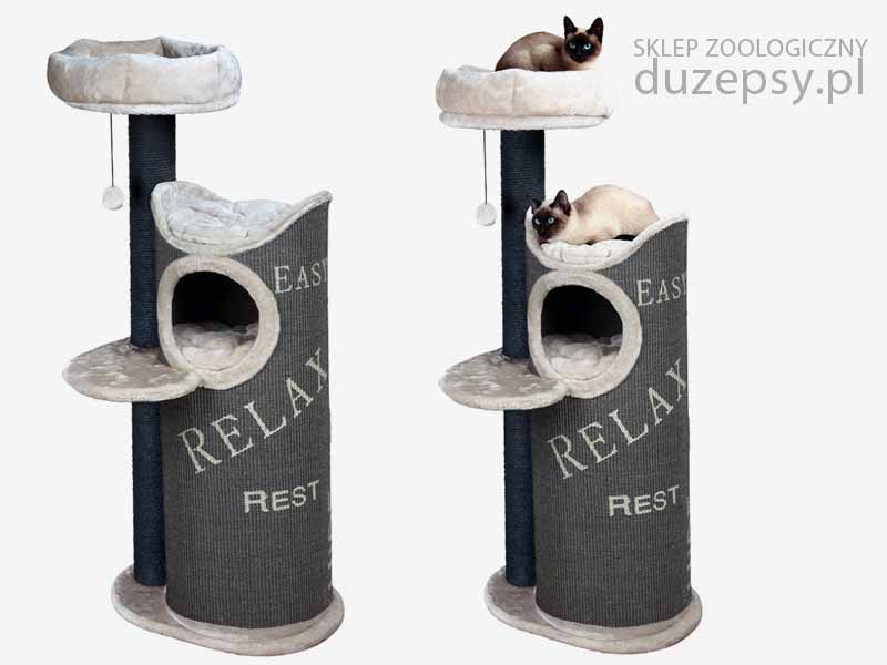 wysoki drapak dla kota; drapak dla kota z domkiem; drapak Juana; drapaki dla kota Trixie; drapak dla kota wieża; drapak dla kota 140 cm, drapak dla kota 130 cm, nowoczesny drapak dla kota; drapak dla kota sklep internetowy; drapaki z sizalu; drapak dla kota słupek; drapaki dla kotów sklep online; drapaki dla kotów; sklep zoologiczny; duzepsy.pl;