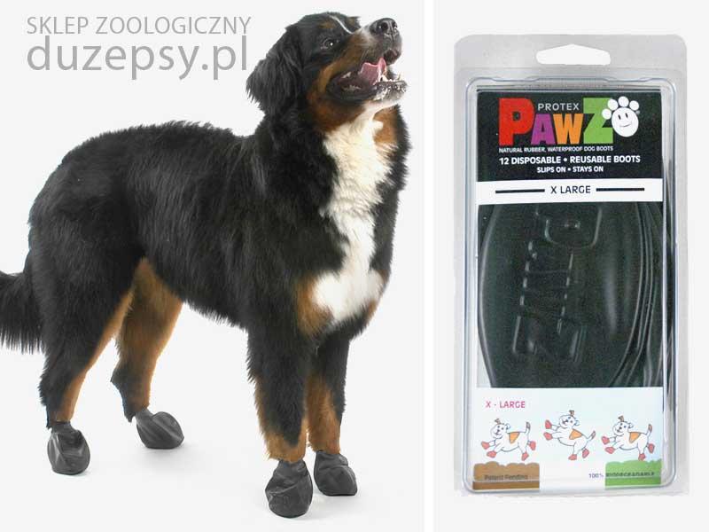 Buty dla psa pawz; Buty ochronne z naturalnej gumy dla dużego psa XL; buty z gumy dla psów; buty ochronne dla psa gumowe; tanie buty ochronne dla psa; but z gumy naturalnej dla dużego psa; sklep zoologiczny internetowy; DuzePsy.pl